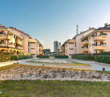 vivere assago green village verde vicino milano