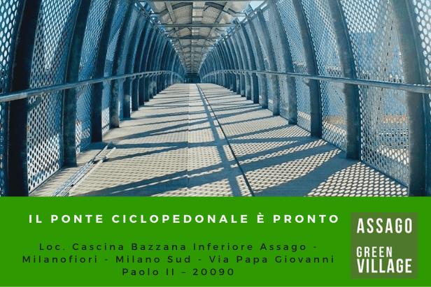 Nuovo ponte ciclopedonale